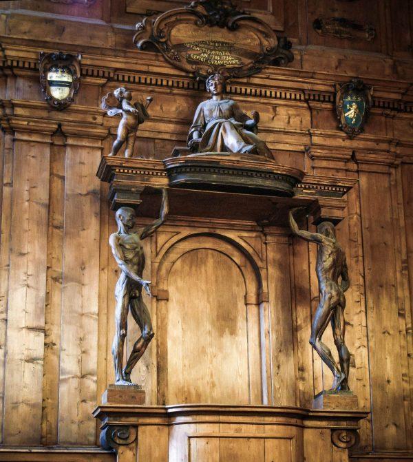 Cattedra degli Spellati, Archiginnasio