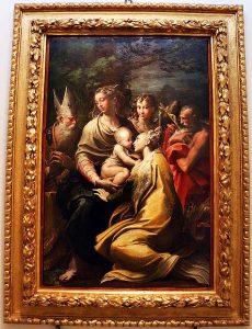 Madonna col Bambino, Parmigianino, pinacoteca nazionale, bologna museum, Italy