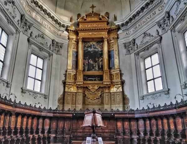 basilica di san domenico, visit bologna, italy, church, cloister